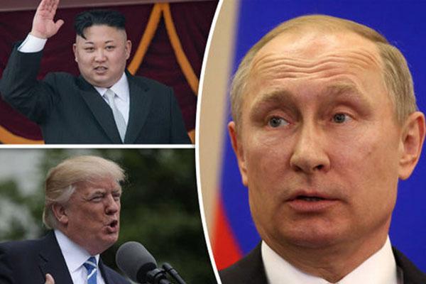 Jong-Un, Trump y Putin