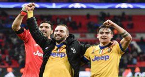 Juventus sorprende a Tottenham y pasa a cuartos de final de la Champions League