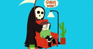 La muerte con humor