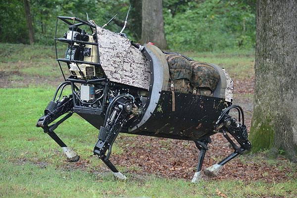 perro-robot Alfa