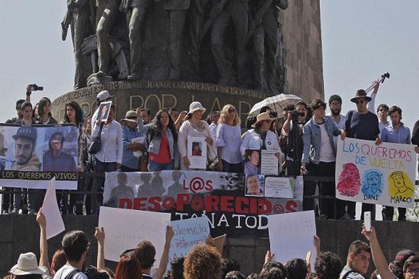 Convocan a paro por estudiantes desaparecidos en Jalisco