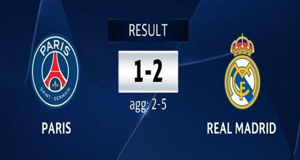 PSG vs Real Madrid 2018: Real Madrid sella pase a cuartos de final ...
