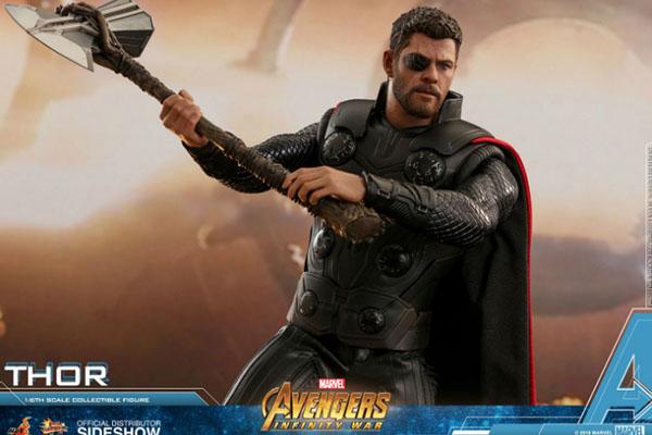 Se revela spoiler de Avengers Infinity War a través de una figura de acción de Thor y Iron Man