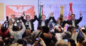 Nombran a Mancera coordinador nacional del Frente por México
