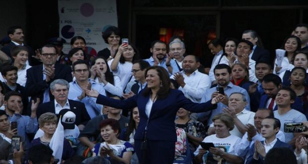 Margarita Zavala se registra como independiente ante el INE; renuncia a financiamiento