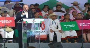 """No permitiremos un México de caudillos"", asegura Meade"
