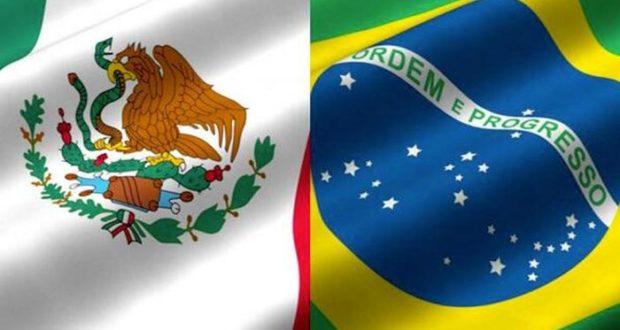 Las dos economías más grandes de América Latina trabajan en equipo y México y Brasil fortalecen su relación comercial y creando entornos adecuados para incrementar el libre comercio entre ellos.