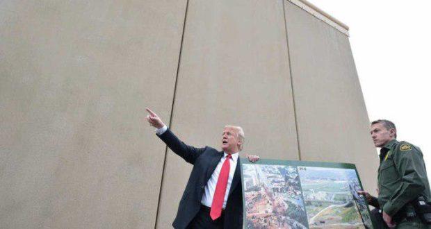 Donald Trump pide un muro fronterizo que no puedan escalar los inmigrantes