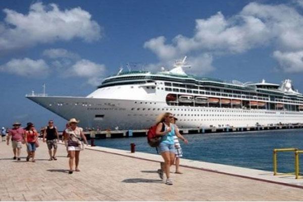 Crucero en playas de México