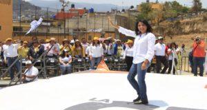 Alejandra Barrales asegura que atenderá problemas de movilidad en el poniente de la Ciudad de México, ya que es una de las zonas con mayores problemas de transporte y tráfico.