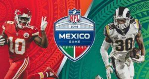 La NFL confirmó a través de redes sociales que el juego entre los Rams y los Chiefs de esta temporada se disputará el lunes 19 de noviembre a las 19:15 horas en el Estadio Azteca de Ciudad de México.