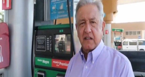 Gasolina AMLO