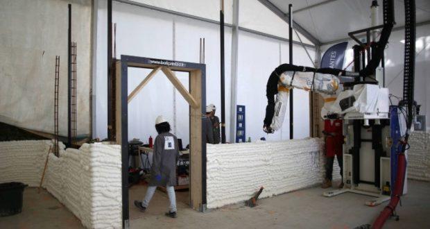 Esta es la primera casa habitable creada con impresiones 3D