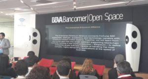 Open Space de BBVA Bancomer busca modificar el entorno emprendedor y ser un lugar desde donde se empodere el desarrollo tecnológico e innovador.