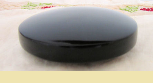 espejo negro de obsidiana