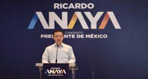 El candidato presidencial respeta las acciones del obispo de Chilapa, quien busca un pacto de paz con el narco, pero no respalda dicho acuerdo.