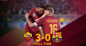 Tras una remontada histórica, la Roma avanzó a las semifinales del torneo de clubes más importante del mundo. En la otra serie, Liverpool selló su pase a la siguiente fase.