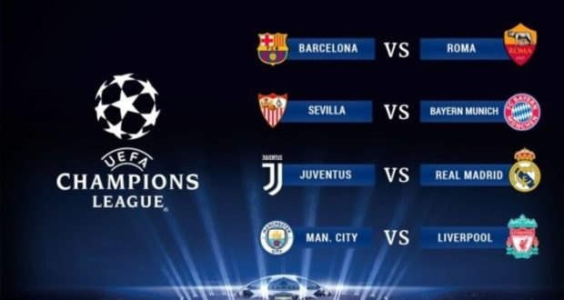 Champions League 2018 cuartos de final: Barcelona y Manchester City ...