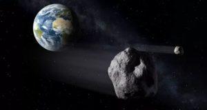 24 horas antes de pasar cerca de la Tierra detectan un asteroide del tamaño de un estadio