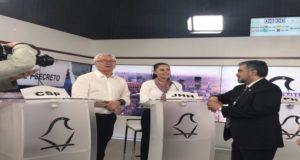 """""""Voy a ser una jefe de gobierno sencilla pero innovadora"""", aseguró Claudia Sheinbaum y de esta manera cerró su participación en el debate televisivo que sostuvieron los aspirantes a la jefatura de gobierno de la Ciudad de México."""