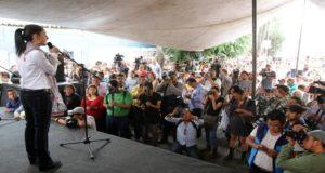 Claudia Sheinbaum promete acabar con desabasto de agua en la CDMX ya que es uno de los problemas que más afecta a ciertas áreas de la capital del país.