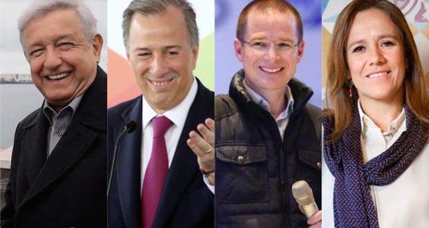 Elecciones 2018: AMLO amplía brecha, Zavala se acerca a Meade y Anaya