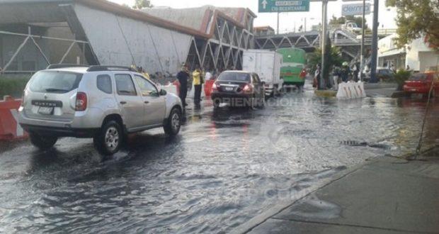 Fuga desperdicia miles de litros en Iztapalapa