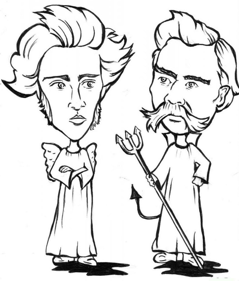 Kierkegaard y Nietzsche