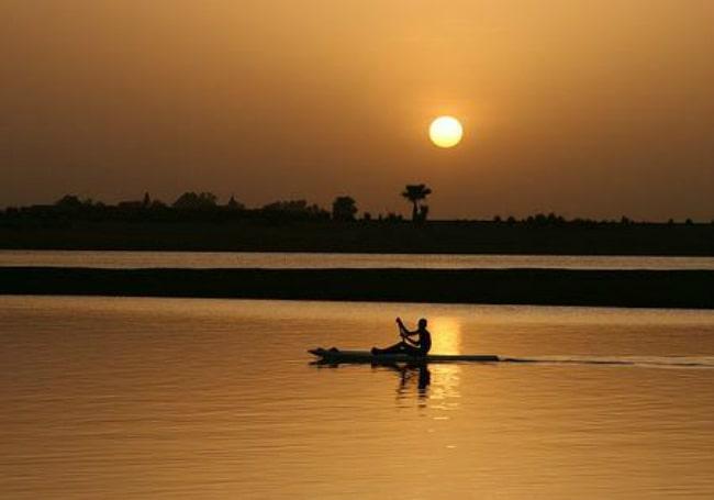 Atardecer en Segou