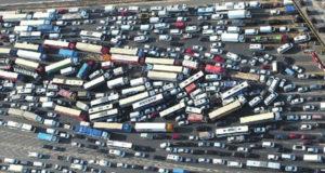 Tráfico en Estambul.