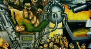 Gran Mural El Resurgimiento del Arte Nacionalista