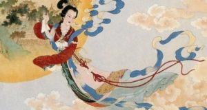 Diosa china de la luna