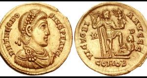 Monedas imperiales romanas.