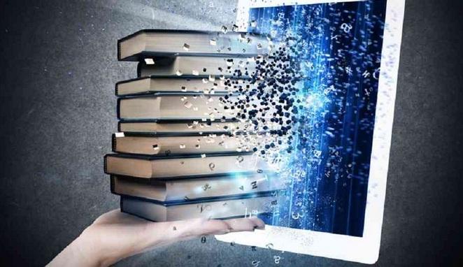 Libro digital y libros impresos