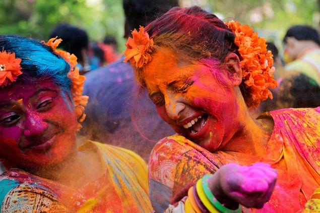 Holi, festival en la India