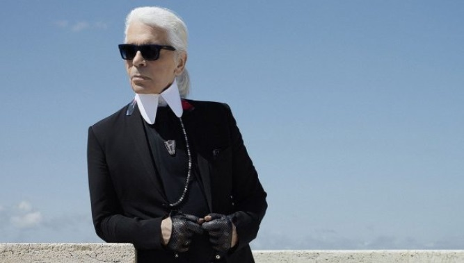 Karl Lagerfeld, estilo