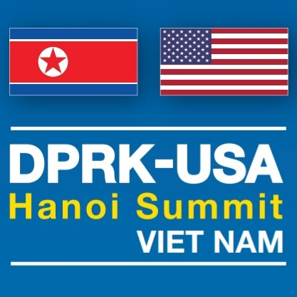 Logo of DPRK USA Hanoi Summit, Vietnam