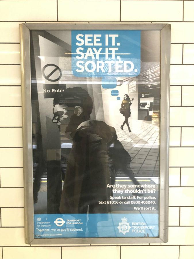 cartel contra terrorismo-Londres