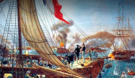 franceses e ingleses llegan a Veracruz