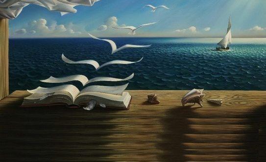 libros y el mar