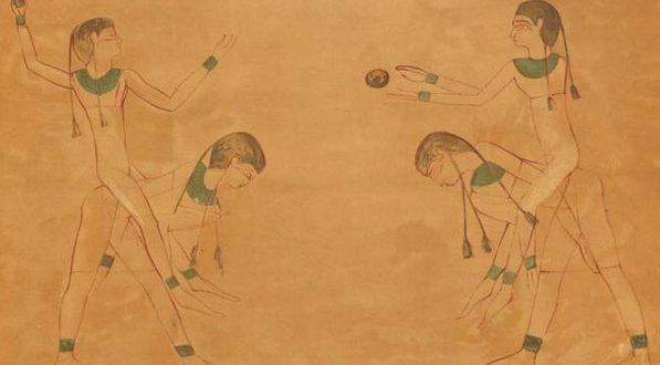 pelota en los egipcios