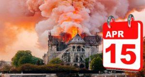 15 de abril Notre Dame