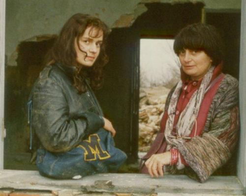 Agnès y Bonnaire.