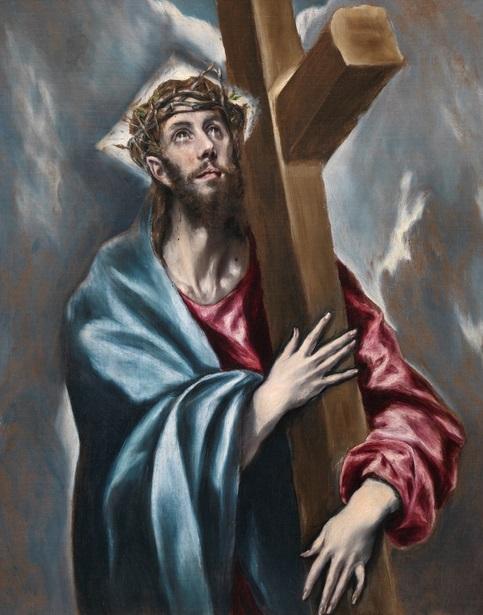 El Greco y Cristo