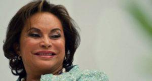 Elba Esther Gordillo, ex líder del Sindicato Nacional de Trabajadores de la Educación (SNTE),