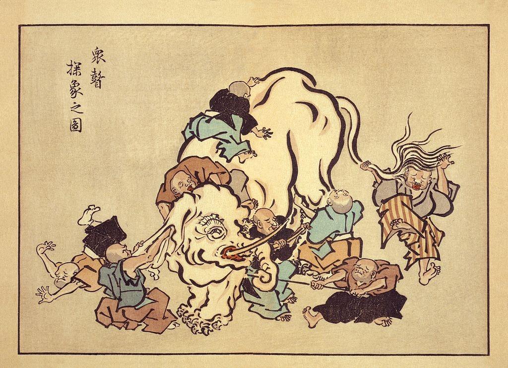 cuento del elefante y filosofía budista