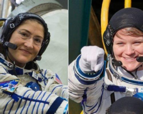 mujeres astronautas.