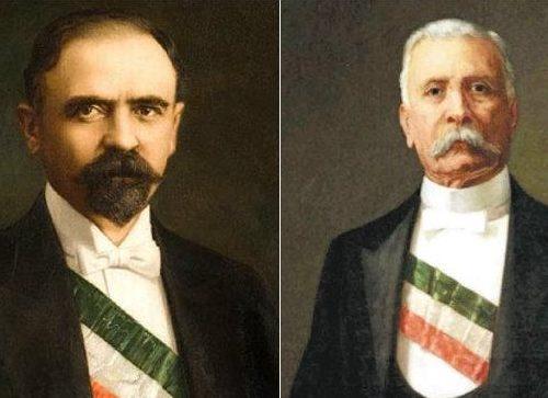 Madero y Porfirio Díaz.