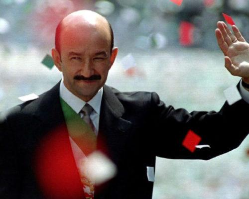 Ex presidente Carlos Salinas de Gortari .