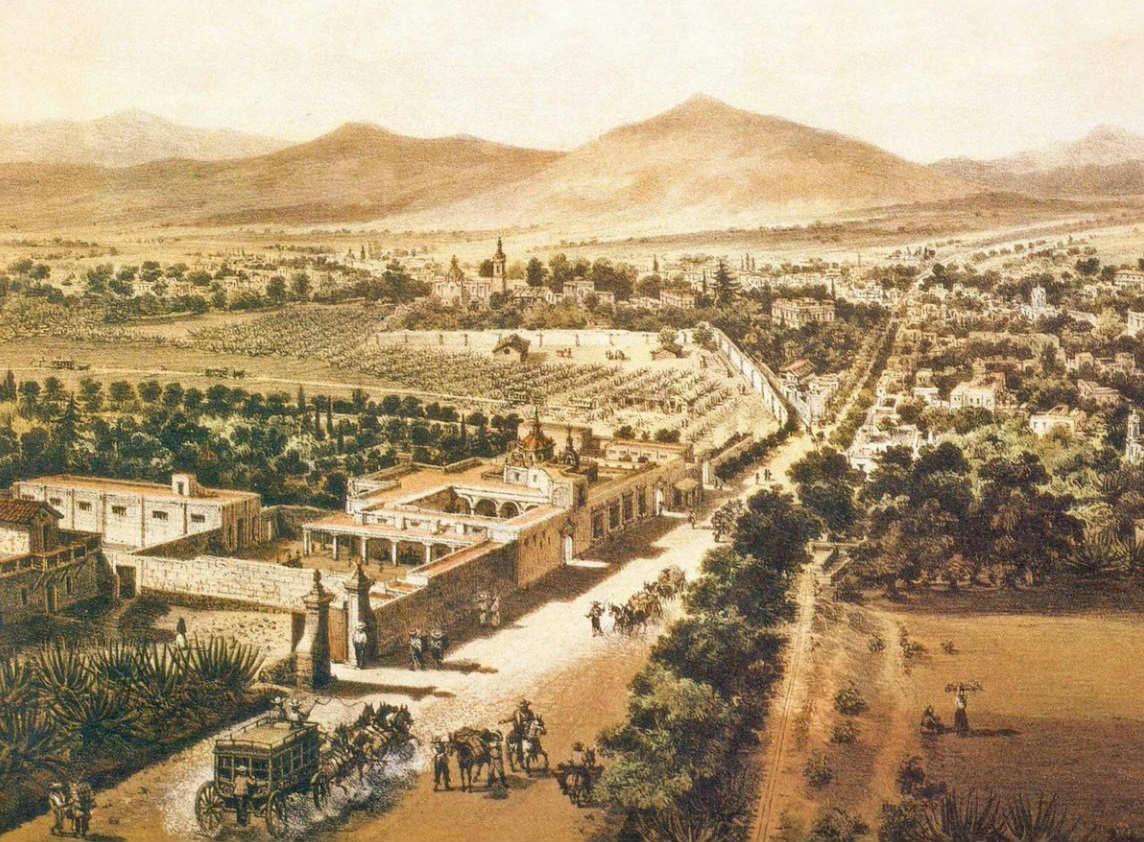 camino a tacubaya